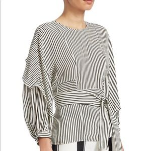 Maje striped top